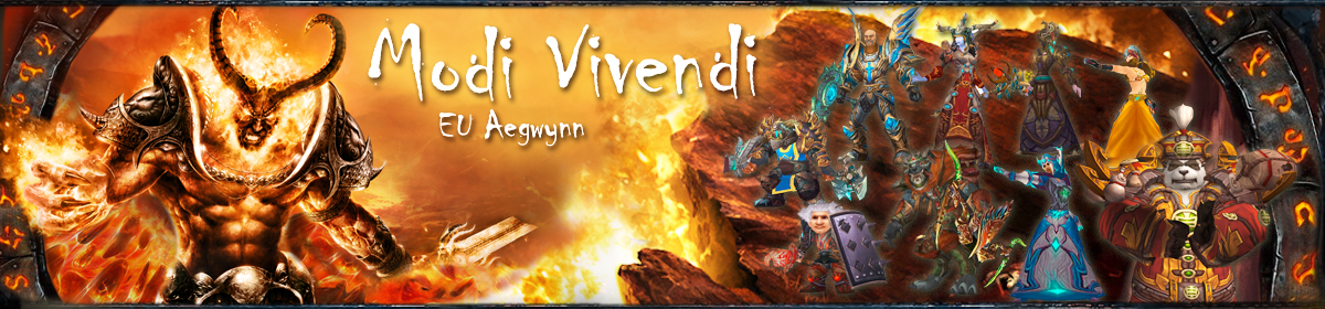 Modi Vivendi | World of Warcraft Gilde | EU-Aegwynn Logo